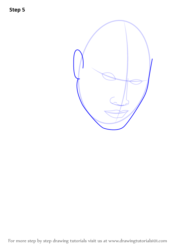 Step By Step How To Draw Dwayne Johnson Aka The Rock