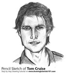 How to Draw Tom Cruise
