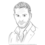How to Draw Tom Hardy