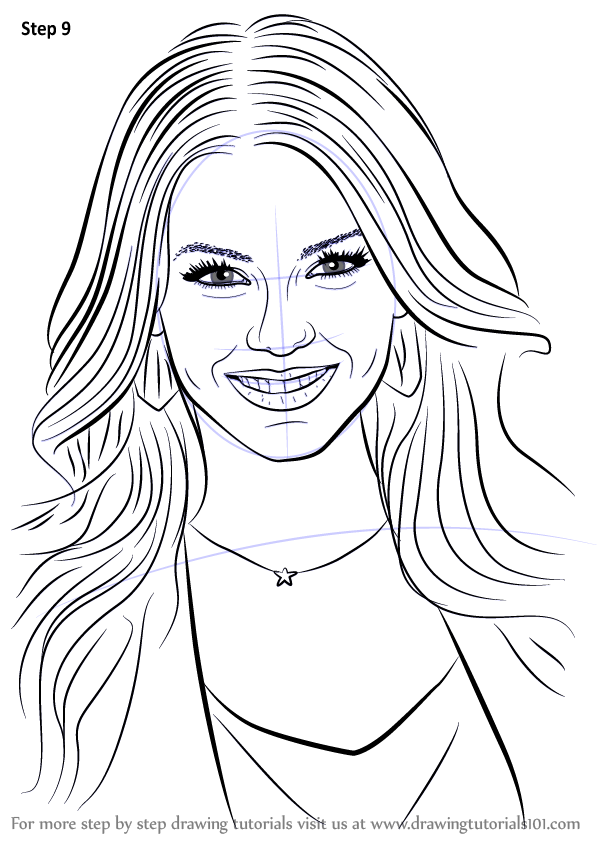 learn how to draw victoria justice  celebrities  step by