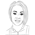 How to Draw Vivica A. Fox