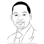 How to Draw Will Smith