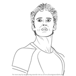 How to Draw Finnick Odair from The Hunger Games