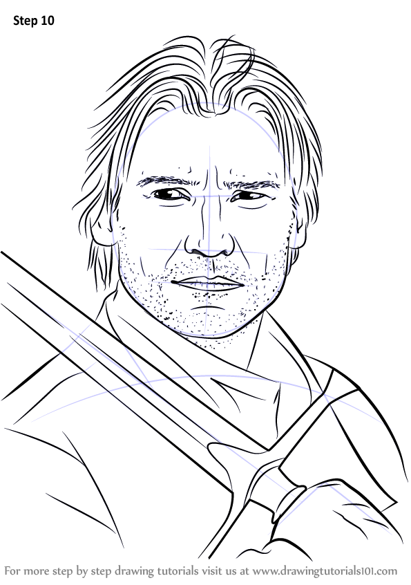 Learn How to Draw Jaime Lannister