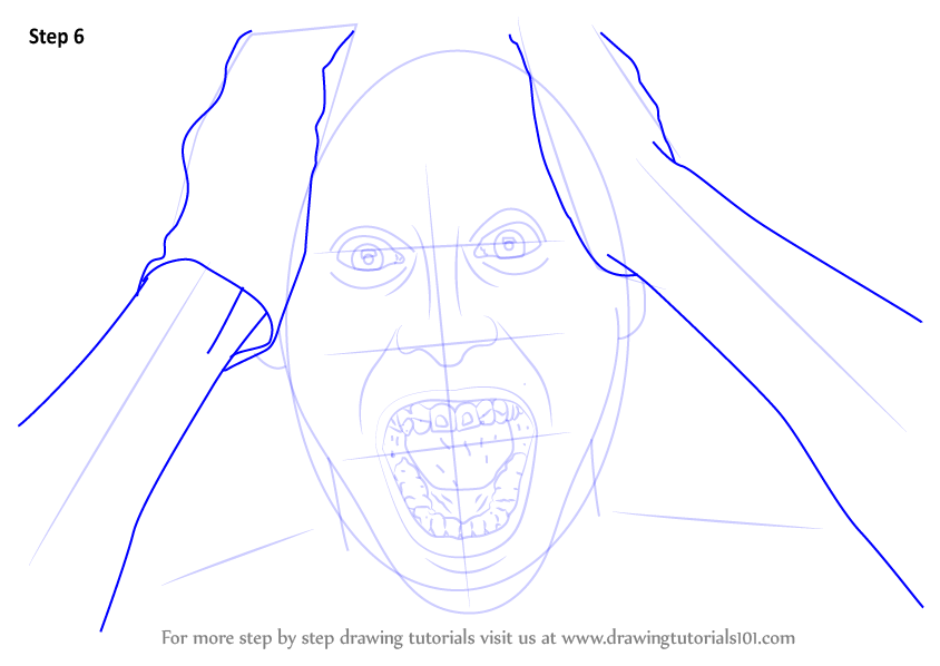 Learn How To Draw Jared Leto As The Joker From Suicide