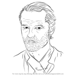 How to Draw Jorah Mormont