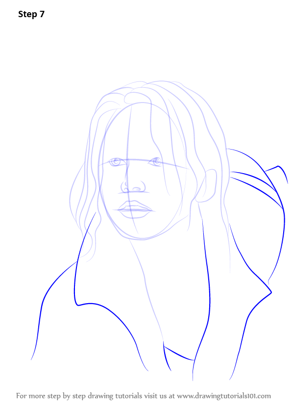 Learn How To Draw Katniss Everdeen Characters Step By