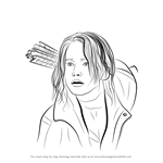 How to Draw Katniss Everdeen