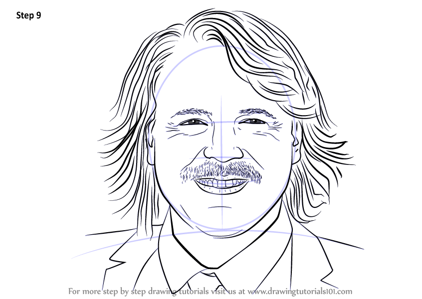 Learn How To Draw Keith Lemon Characters Step By Step