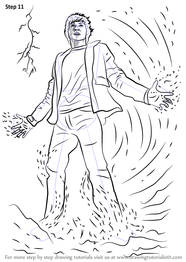 The Lightning Thief Coloring Pages