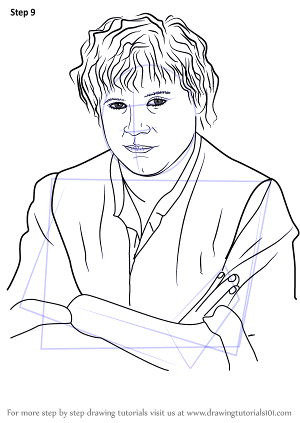 Learn How To Draw Samwise Gamgee From Lord Of The Rings