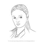 How to Draw Sansa Stark