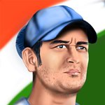 How to Draw Mahendra Singh Dhoni
