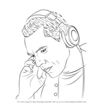 How to Draw Tiesto