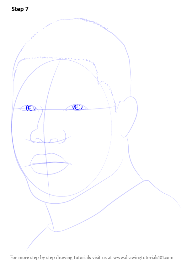 Learn How To Draw Kevin Hart Entertainers Step By Step