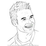 How to Draw Ryan Seacrest