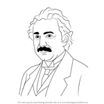 How to Draw Albert Einstein