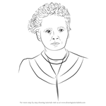 How to Draw Marie Curie