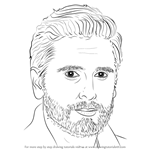 How to Draw Scott Disick