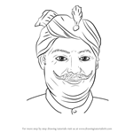 How to Draw Veer Narayan Singh