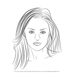 How to Draw Candice Swanepoel