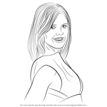How to Draw Heidi Klum