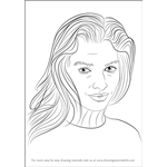 How to Draw Jessica Hart