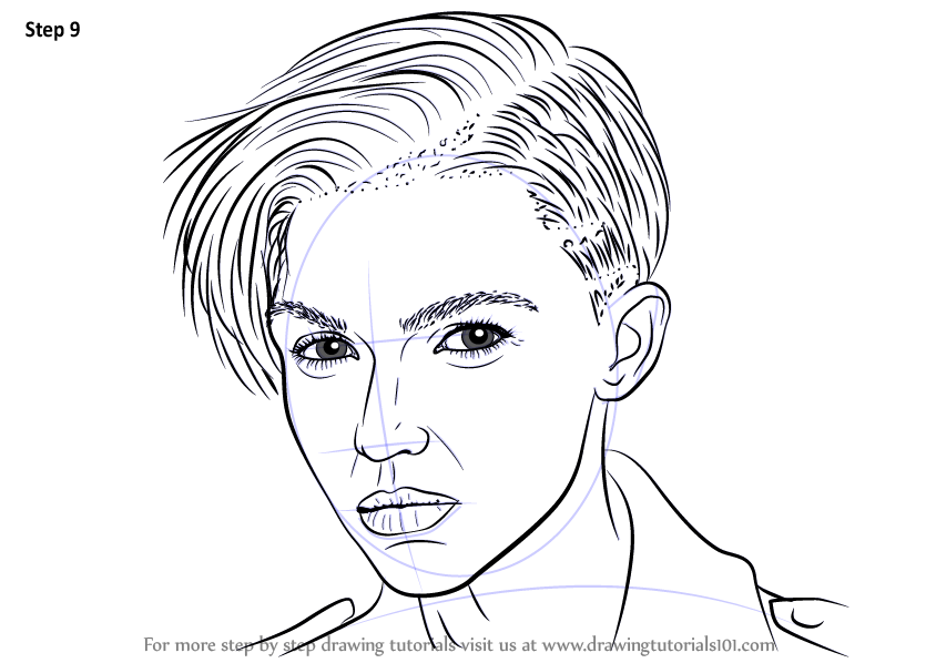 Learn How To Draw Ruby Rose Female Models Step By Step