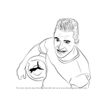 How to Draw Alexis Sanchez