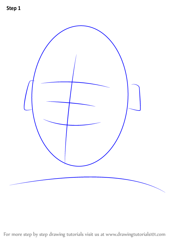 Learn How To Draw Cam Newton Footballers Step By Step