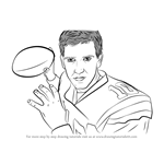 How to Draw Eli Manning