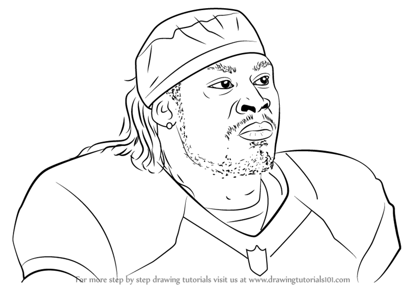 odell beckham coloring pages - odell beckham jr black and white coloring coloring pages