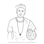 How to Draw Neymar Jr.