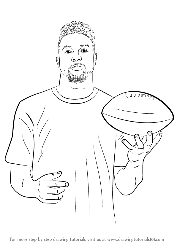 Coloring Pages Football Players #10