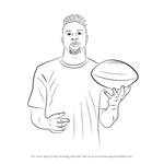 How to Draw Odell Beckham Jr.