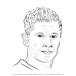 How to Draw Robert Lewandowski