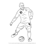 How to Draw Wayne Rooney