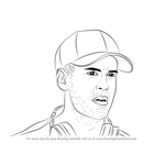 How to Draw Sebastian Vettel