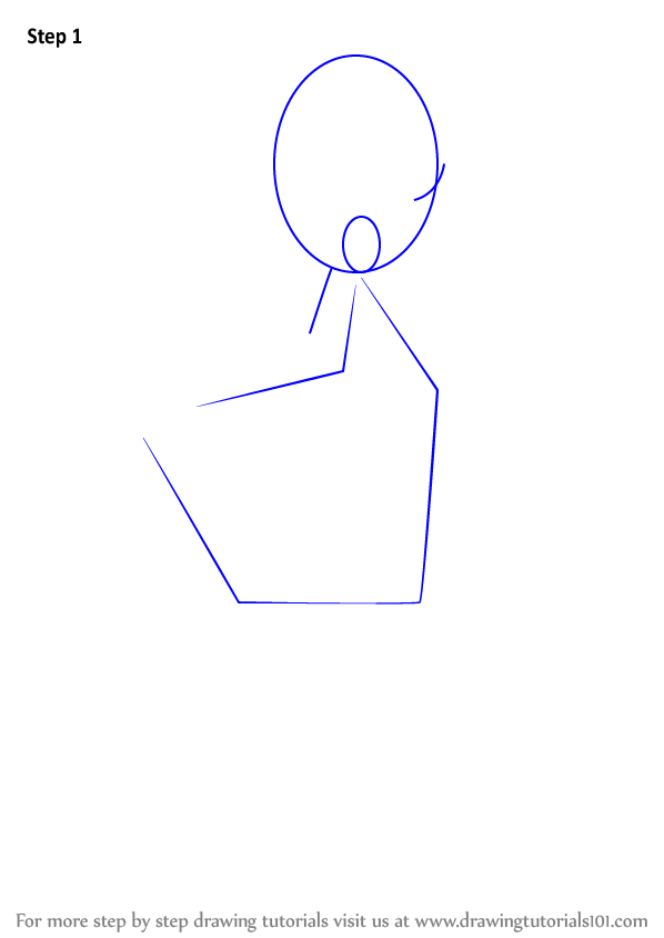 how to draw block girl