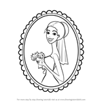 How to Draw a Happy Bride