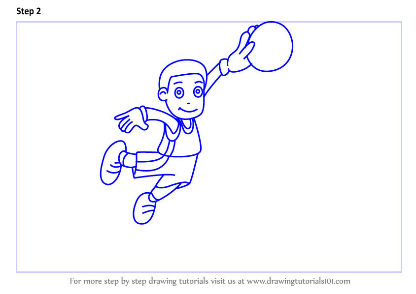 how to draw a tennis ball step by step