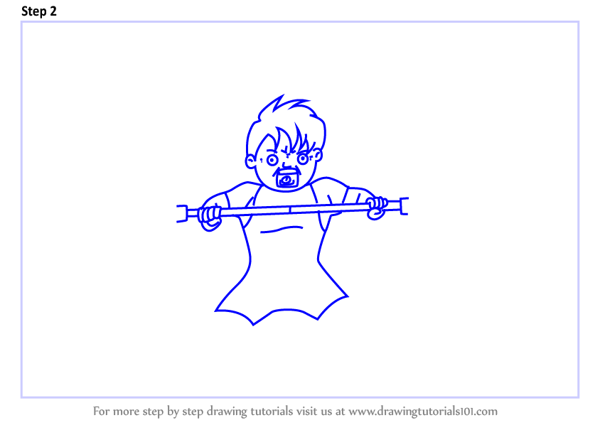 learn how to draw a boy lifting weight  other occupations