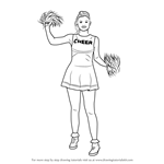 How to Draw a Cheerleader Girl