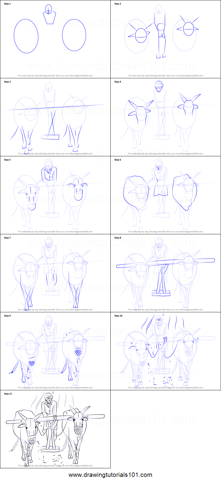 How to draw a farmer working in the farm printable step by for How to draw a farmhouse