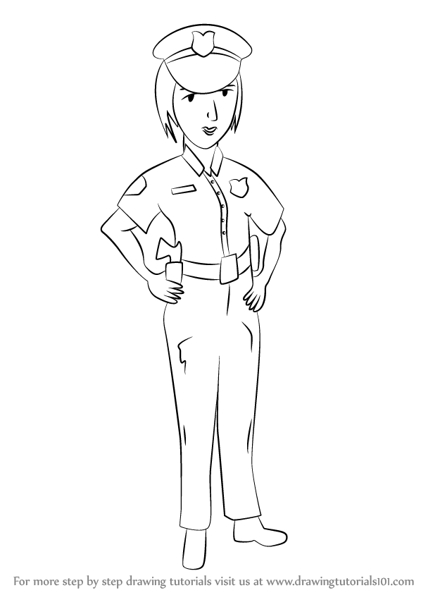 learn how to draw a female police officer  other clipart astronaute clip art astronaut name badges