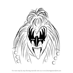 How to Draw Gene Simmons