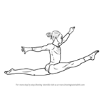 How to Draw a Gymnast