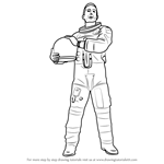 How to Draw a Realistic Astronaut