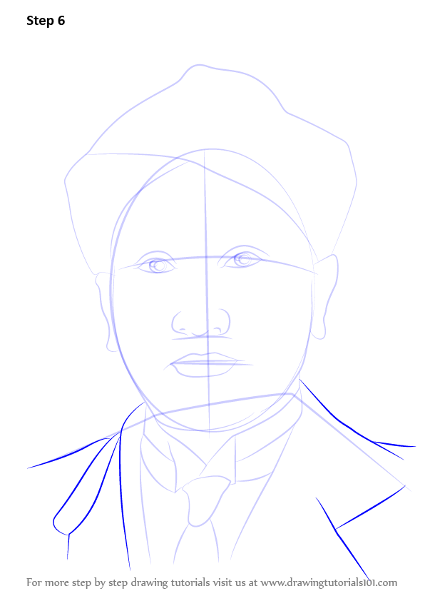 Learn How To Draw Cv Raman Other People Step By Step