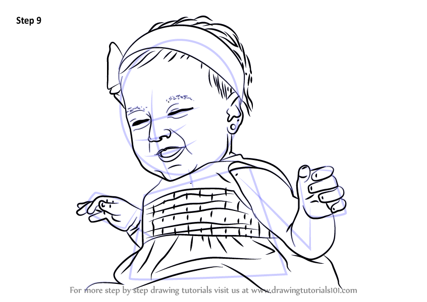 How To Draw Girl Baby